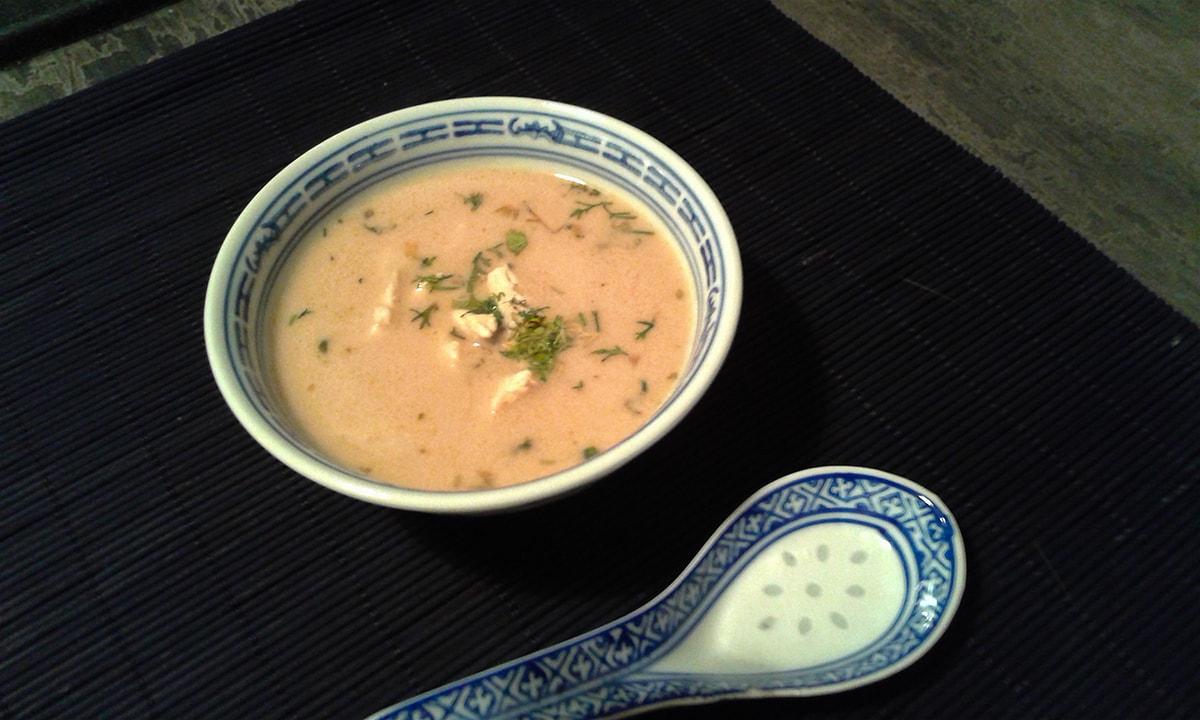 Tajska Zupa Tom Kha Gai Kurczak I Galgant Nawolnymogniupl